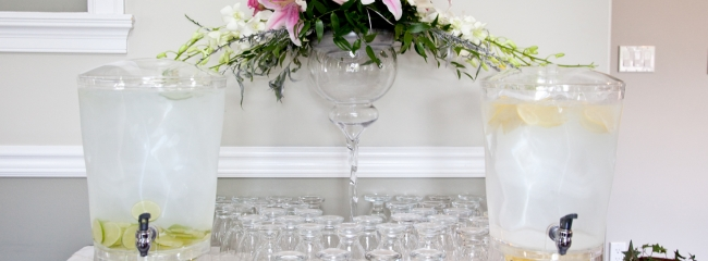 Premium Water Service - Wedding catering service in Vancouver and Surrey, BC